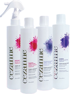 Cezanne keratin products